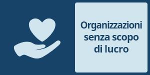 Servizi alle organizzazioni senza scopo di lucro